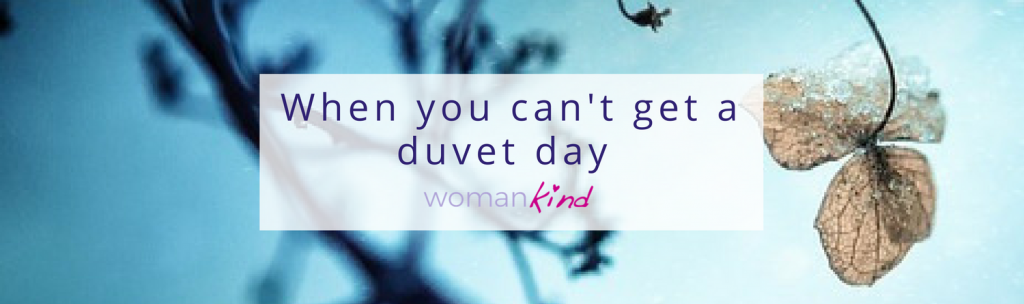 What to do when you can't get a duvet day