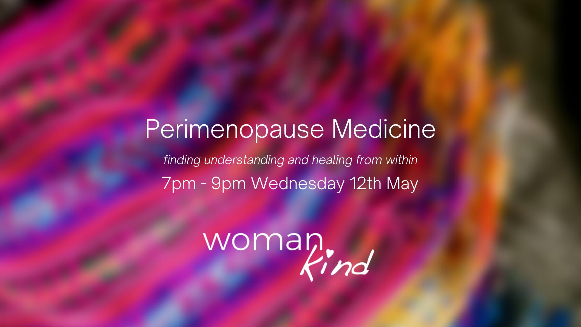 Perimenopause-Medicine fb event